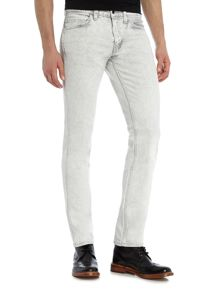 Levi's Line 8 511 dirty white slim fit jeans