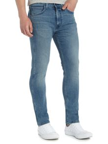Levi's Line 8 519 authentic blue extreme skinny jeans