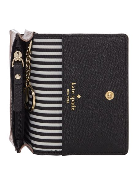 Kate Spade New York Cameron Street Beca Flapover keychain purse