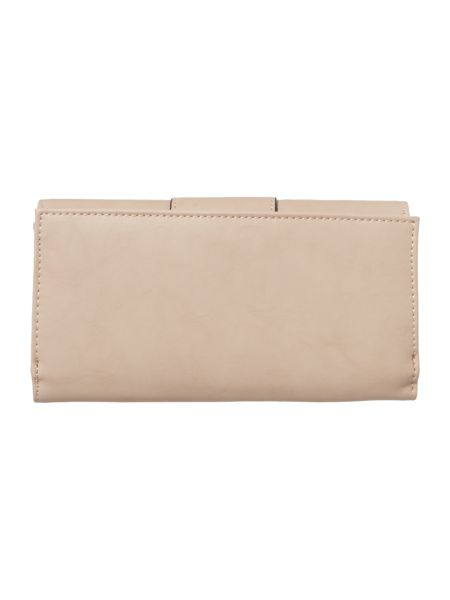 Ollie & Nic Bella neutral large flapover purse