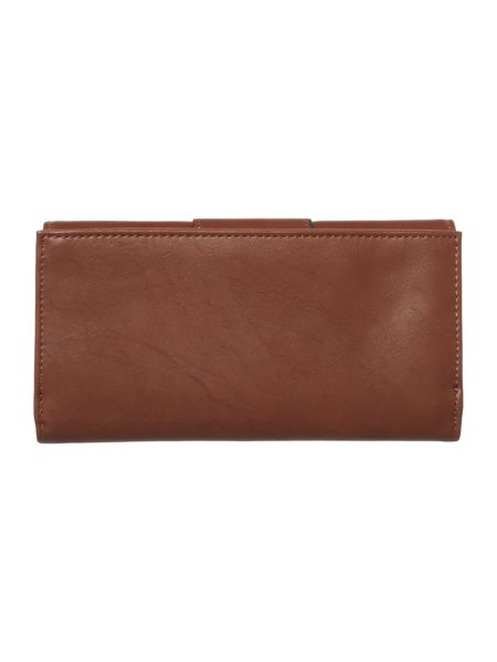 Ollie & Nic Bella tan large flapover purse