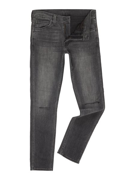Levi's Line 8 519 mid grey extreme skinny jean