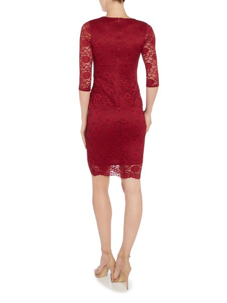 Jessica Wright Long Sleeved Lace Bodycon Dress