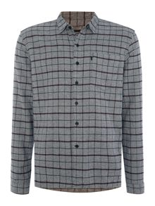Levi's Line 8 regular fit 1 pocket check shirt