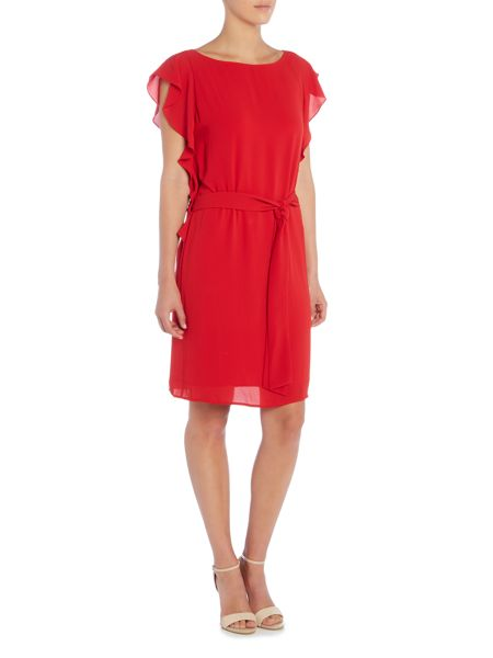 Michael Kors Flounce Sleeve Dress