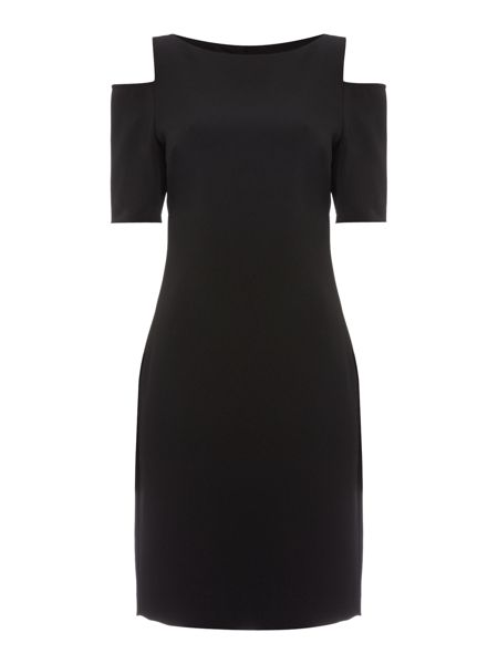 Michael Kors Structured Cut Out Dress