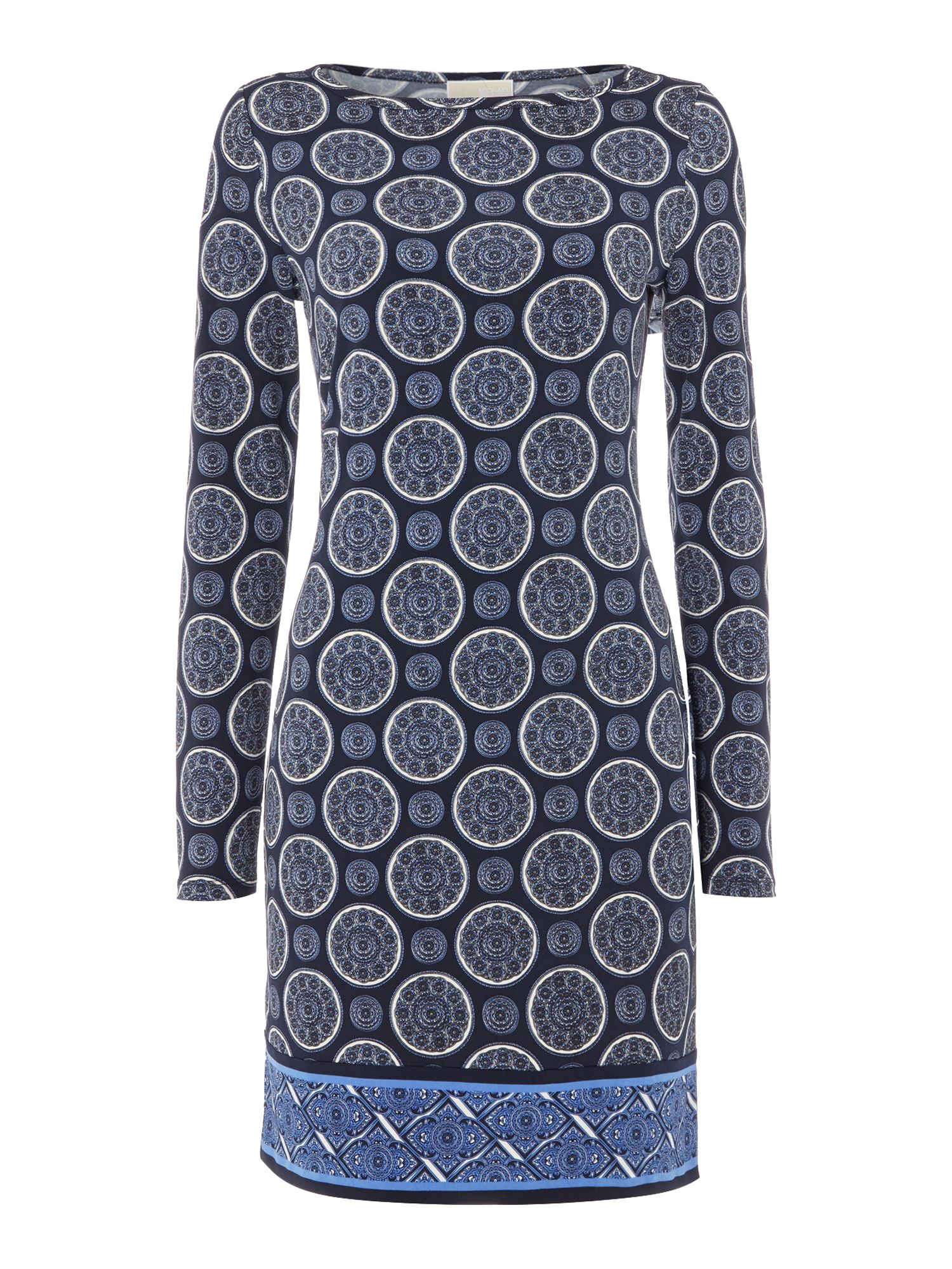 Michael Kors Border Dress, Iris