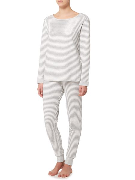 Lauren Ralph Lauren Roll sleeve pyjama set