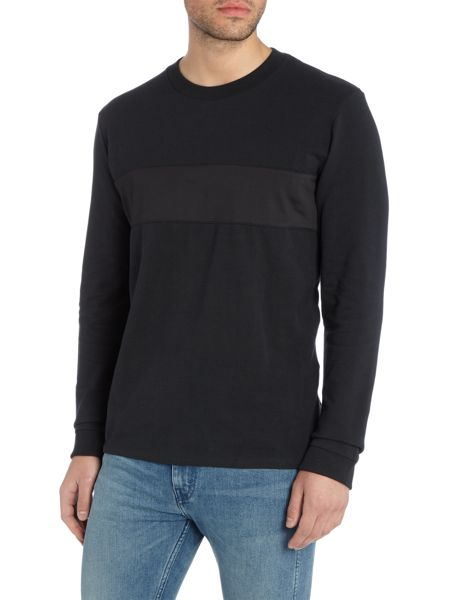 Levi's Line 8 regular fit long sleeve crew neck t shirt