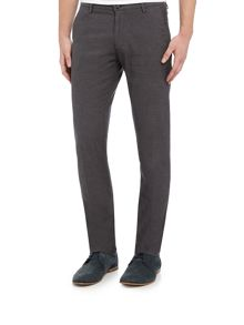 Hugo Boss Rice 3w slim fit micro textured trousers