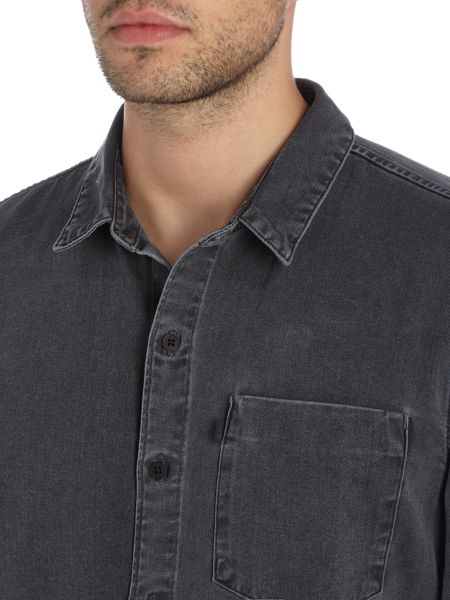 Levi's Line 8 regular fit 1 pocket shirt
