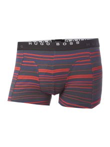 Hugo Boss 2 Pack Stripe And Plain Trunk