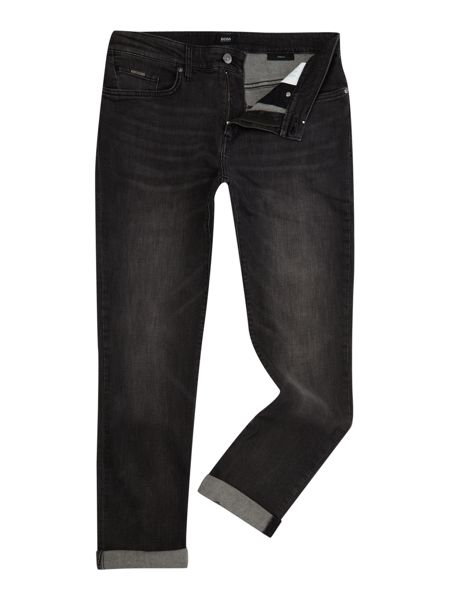 Hugo Boss Delaware 3-1 slim fit grey jeans