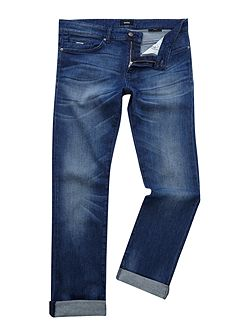 Delaware 3-1 slim fit mid wash jeans