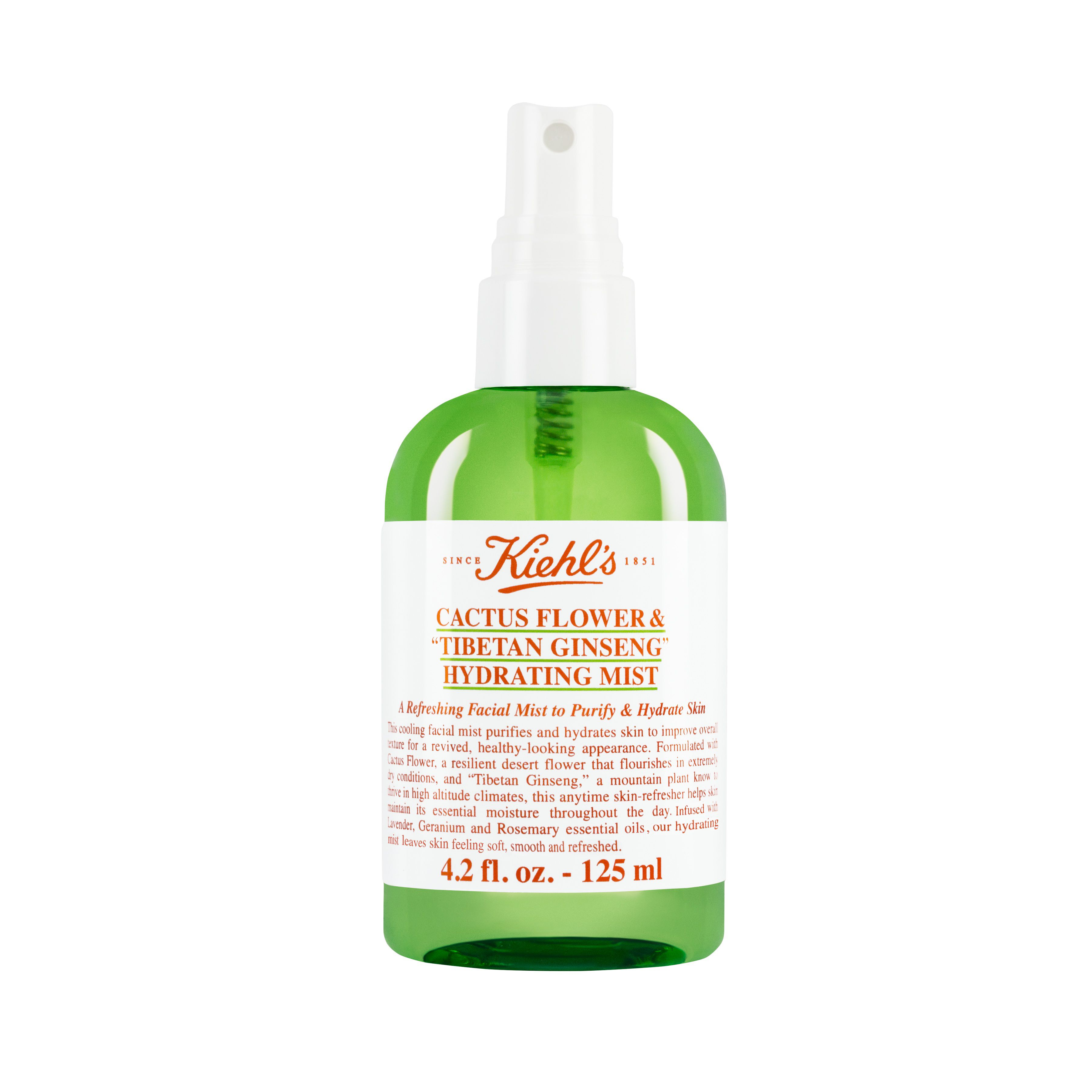 Kiehls Kiehls Cactus Flower Hydrating Mist 125ml