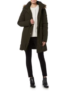 Michael Kors Heavy Down Faux Fur Jacket