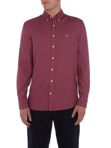 Gant Mini Gingham Twill Long Sleeve Shirt