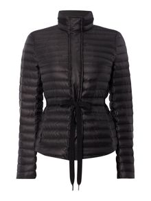 Michael Kors Belted Packable Puffer Jacket