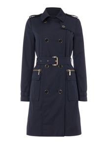 Michael Kors Quilt Trench Coat