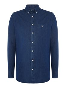 Gant Indigo Long Sleeve Shirt