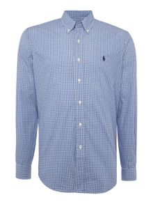 Polo Ralph Lauren Long sleeve mid colour gingham shirt