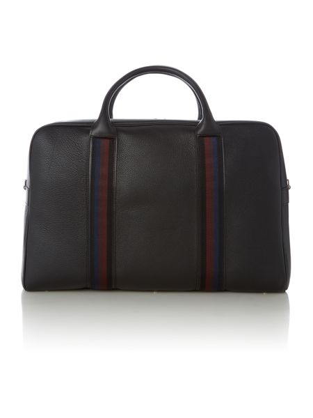 Paul Smith London Webbing Leather Holdall