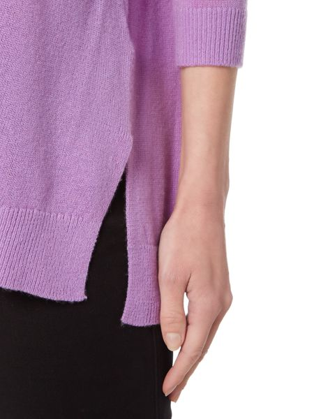 Michael Kors Long Sleeve Mesh Sweater