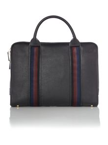 Paul Smith London City Webbing Leather Portfolio Bag