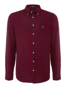 Gant Gingham Long Sleeved Shirt