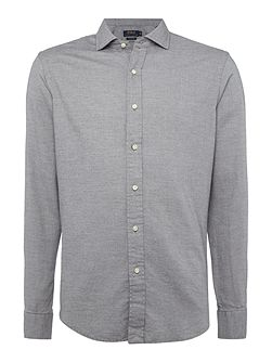 Standard-Fit Cotton-Pique Shirt