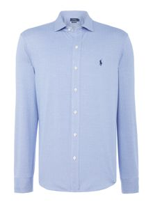 Polo Ralph Lauren Herringbone pique long sleeve shirt