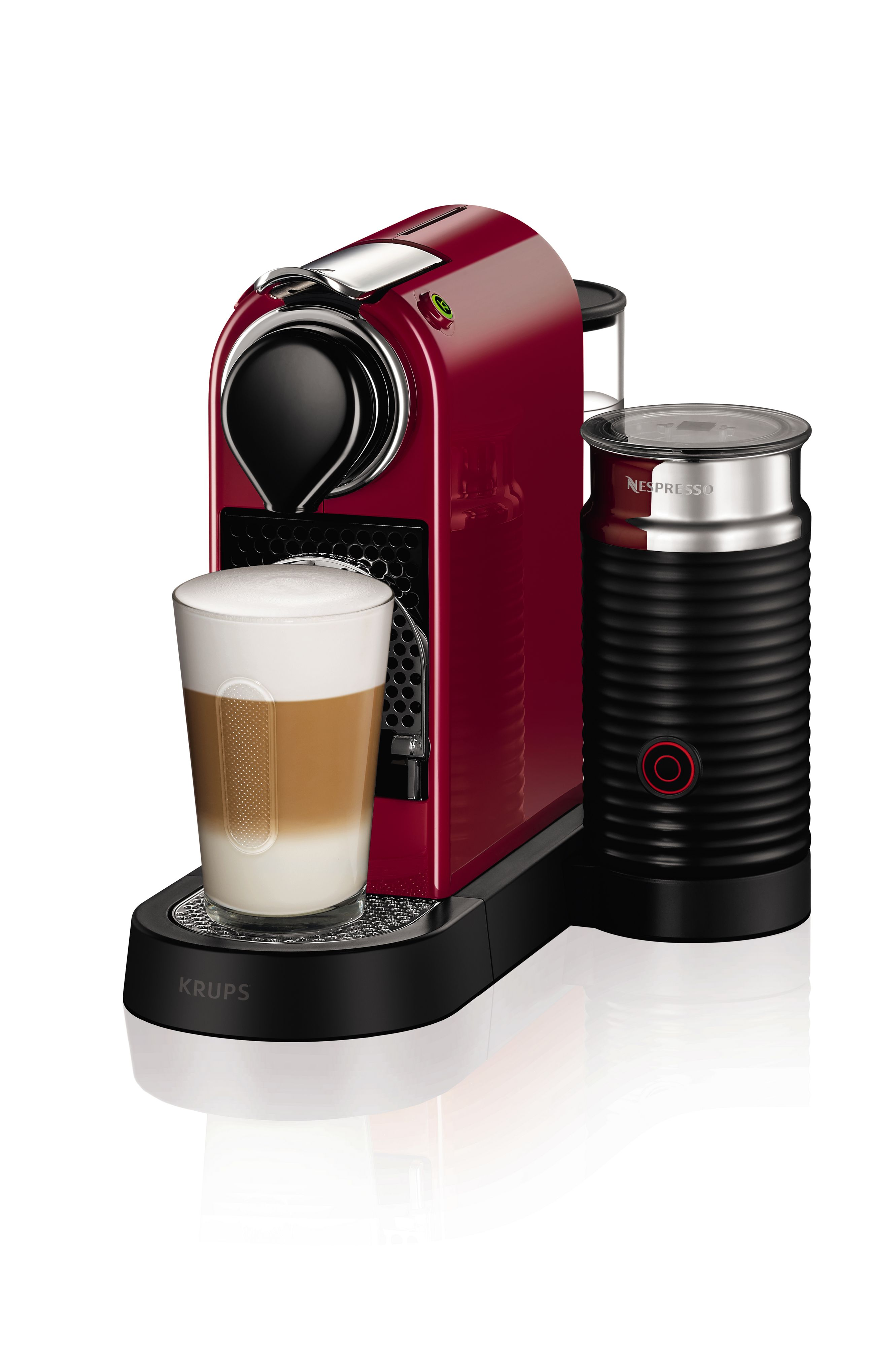 Krups Nespresso Citiz&Milk Machine 2016 Design Red