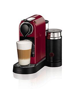 Red Citiz&Milk Nespresso Machine 2016 Design