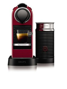Krups Red Citiz&Milk Nespresso Machine 2016 Design