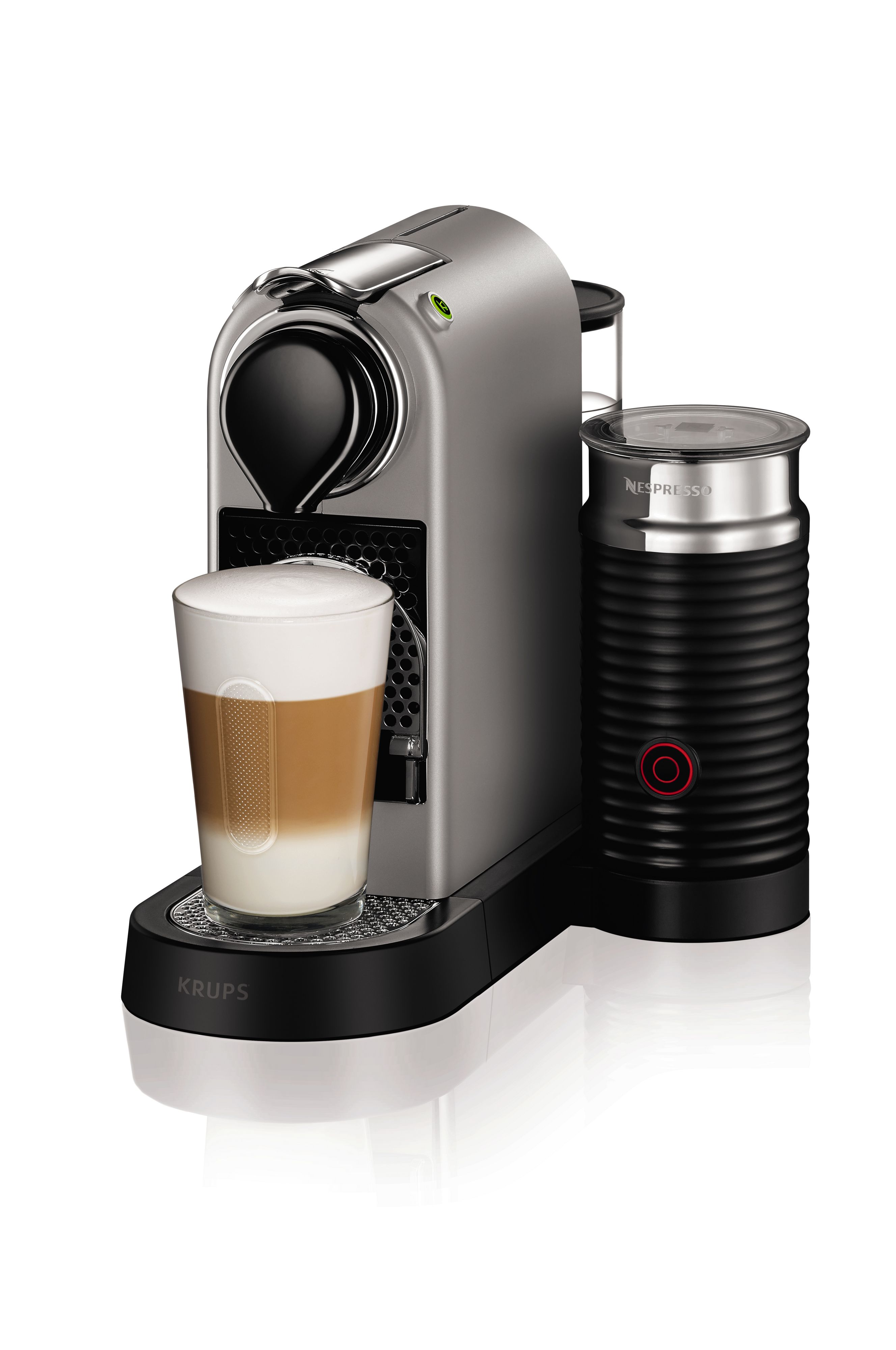 Krups Nespresso Citiz&Milk Machine 2016 Design Silver