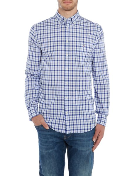 Gant Dobby Design Regular Fit Long Sleeve Shirt