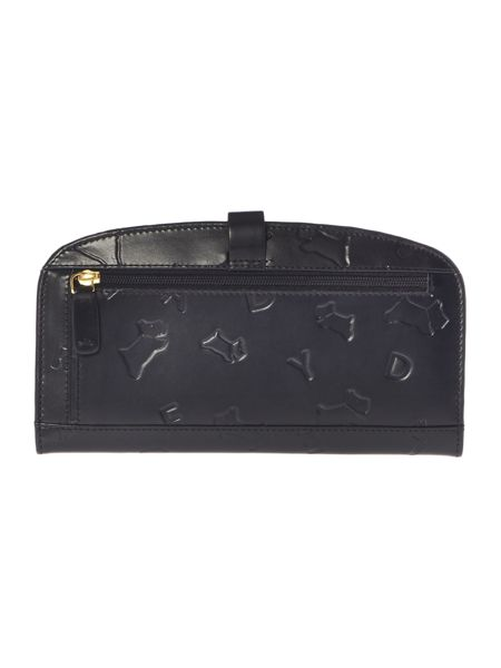 Radley Oriel black large flapover purse