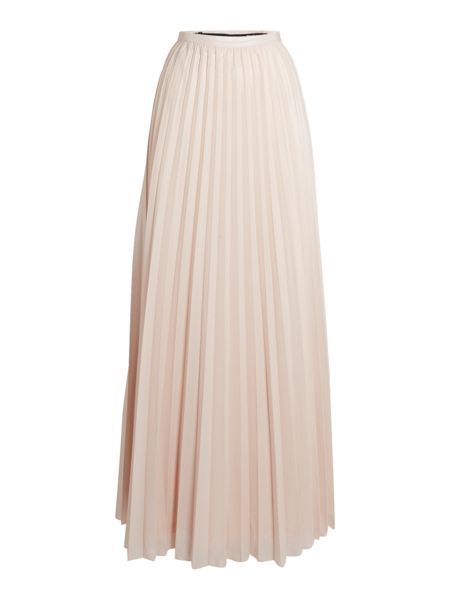 tfnc Waisted Pleated Maxi Skirt