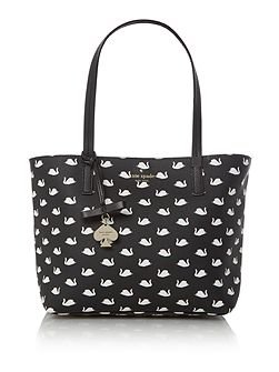 Hawthorne Lane Swans Small Ryan Tote Bag