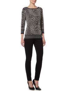 Michael Kors Panther Border Top