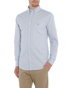 Gant Banker Stripe Oxford Long Sleeve Shirt
