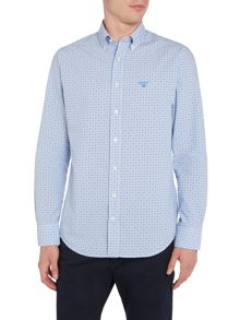 Gant Dobby Gingham Long Sleeved Shirt