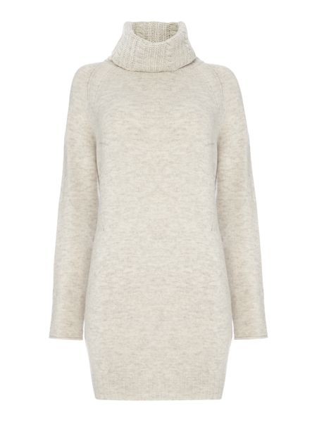 Oui Rollneck side split jumper