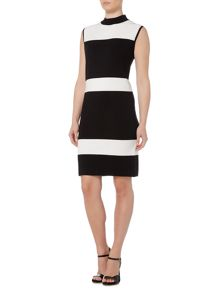 Linea Stripe knitted dress