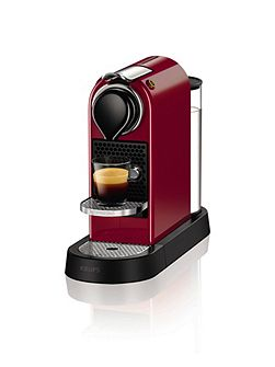 Red Citiz Nespresso Coffee Machine 2016 Design