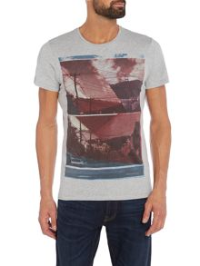 Wrangler Regular fit photographic print t shirt