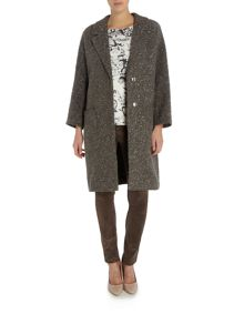 Oui Belted evening coat