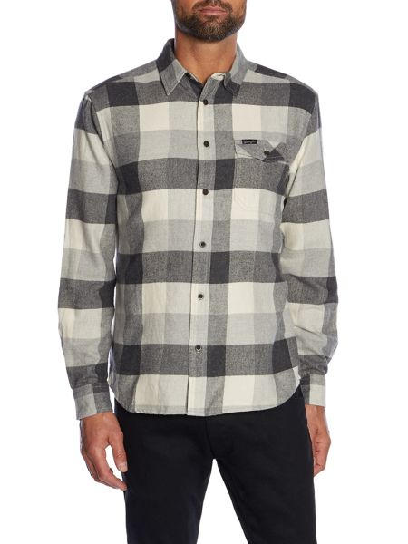Wrangler Regular fit 1 pocket large check western shirt