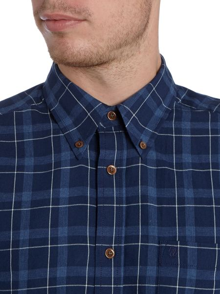 Wrangler Regular fit button down check shirt