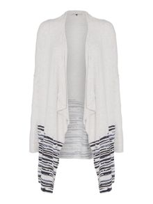 Maison De Nimes Breaking Tides Waterfall Cardigan